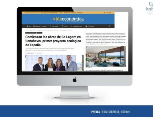 Vida Económica: Comienzan las obras de Be Lagom en Benahavís, primer proyecto ecológico de España
